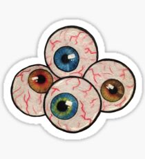 Eyeballs Sticker