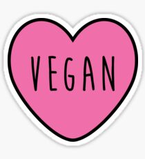 Vegan Love Sticker