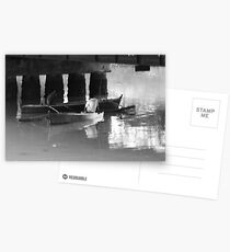 Boatmen Under the Bridge   Postcards