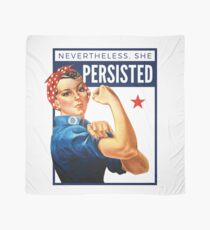 Nevertheless She Persisted - Rosie the Riveter Scarf