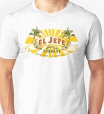 El Jefe Cubanos Imbisswagen Slim Fit T-Shirt