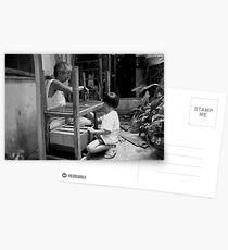 Working Together Postcards