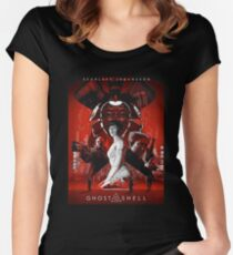 Ghost In Shell The Movie Women's Fitted Scoop T-Shirt