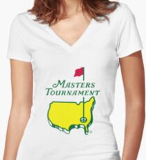 Masters Tournament Women's Fitted V-Neck T-Shirt