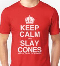Miata Club of Hawaii KEEP CALM Slay Cones WHT T-Shirt