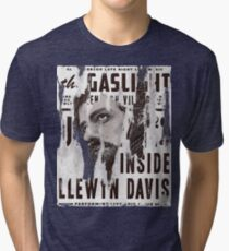 Inside Llewyn Davis - Vintage Poster Tri-blend T-Shirt