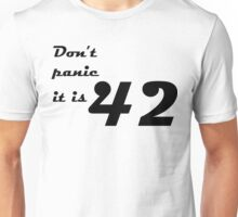 hitchhiker's guide to the galaxy Unisex T-Shirt
