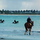 You can lead a horse to water  - Warrnambool Victoria Australia by Norman Repacholi