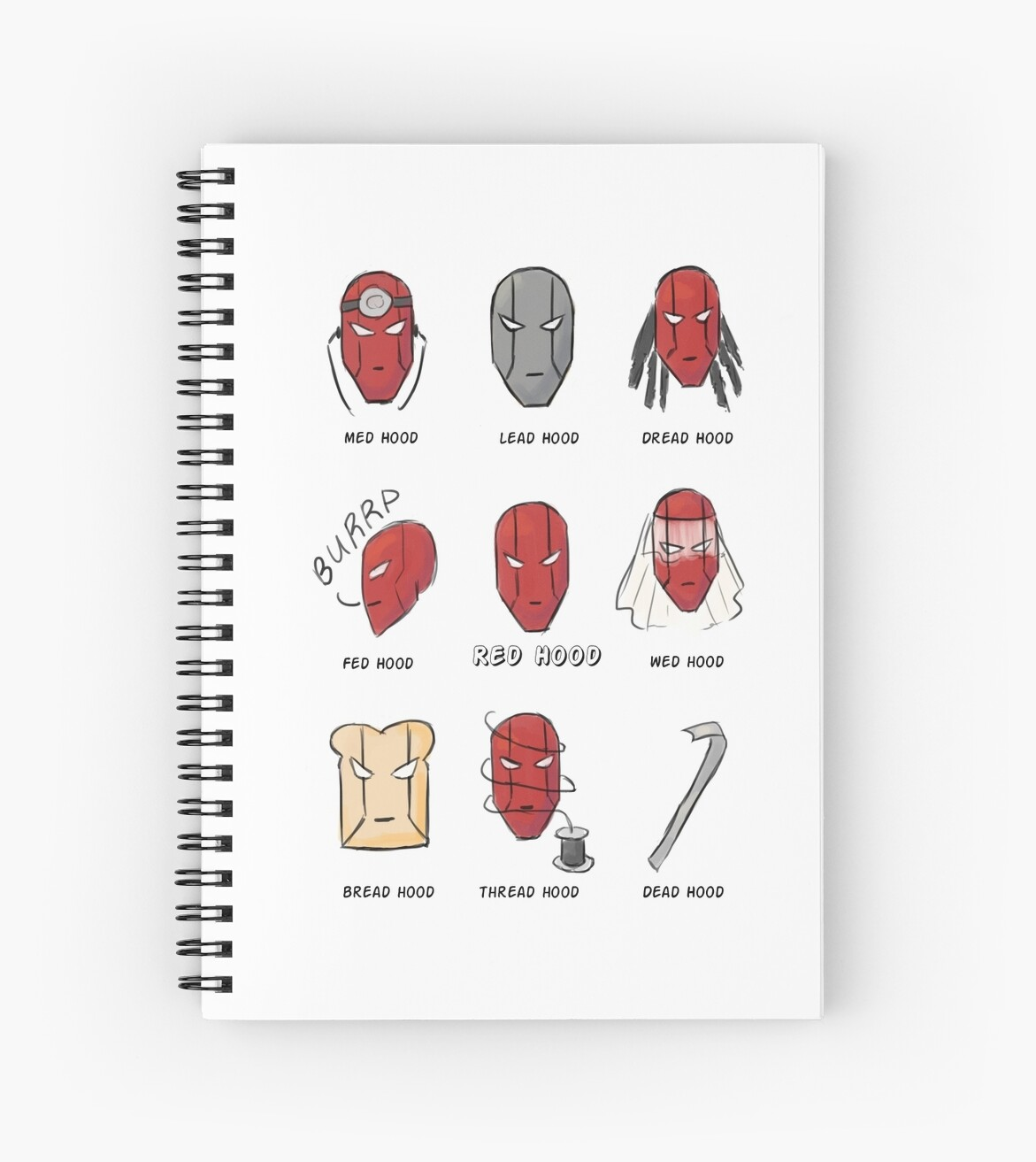 Red Hood Puns by oohnah