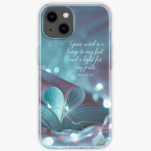 PSALM 119:105 iPhone Soft Case