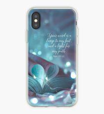 PSALM 119:105 iPhone Case