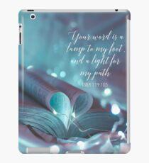 PSALM 119: 105 iPad-Hülle & Klebefolie