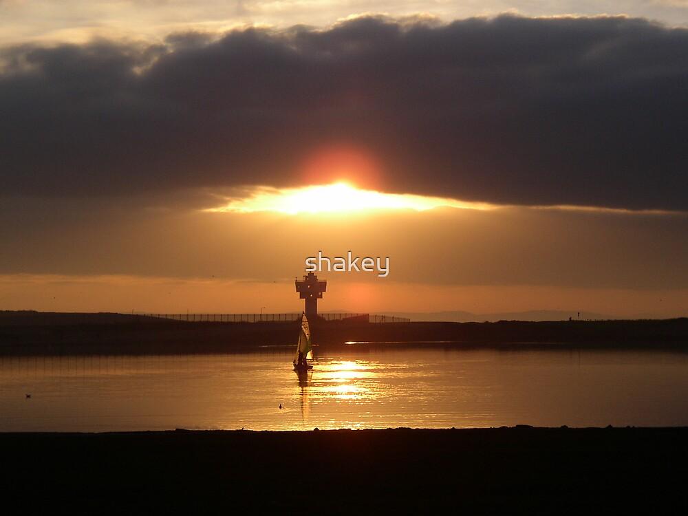 Mersey sunset by shakey