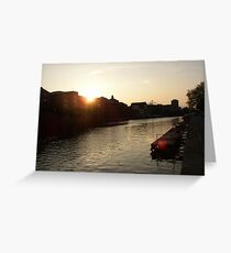Ouse sunset Greeting Card