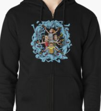 Rick and Morty: Happy Family Zipped Hoodie