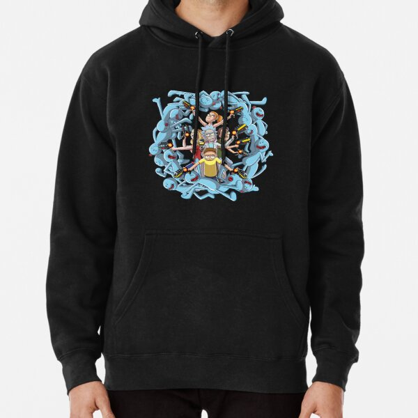 Rick and Morty: Happy Family Pullover Hoodie