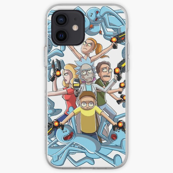 Rick and Morty: Happy Family iPhone Soft Case