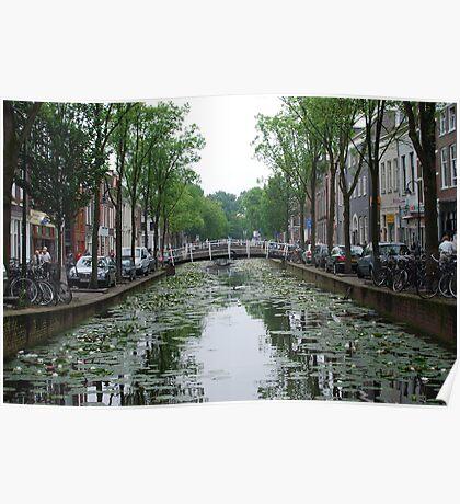 Dutch Canal Poster