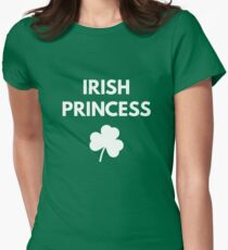 Irish Princess - St. Patricks Day Womens Fitted T-Shirt