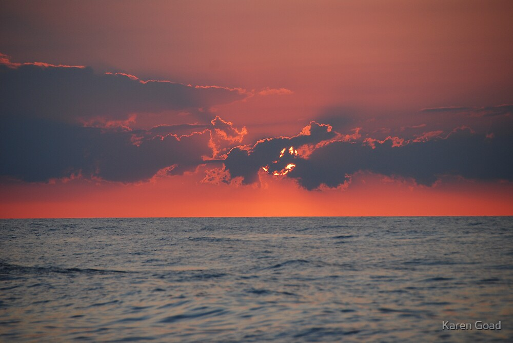 Sunset Glow by Karen Goad