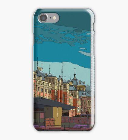 Tokyo Station Orange iPhone Case/Skin