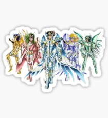 saint seiya god cloths Sticker