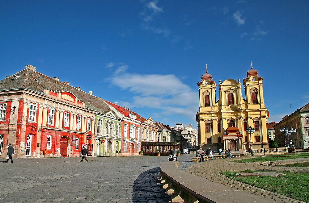 Timisoara in colours I by GabiB