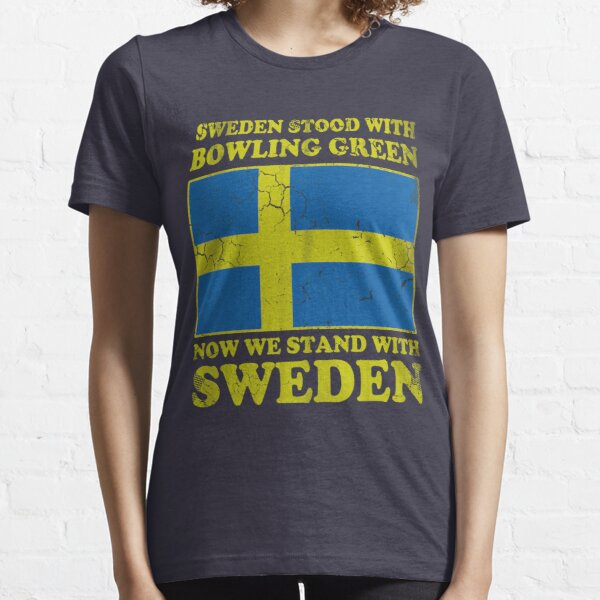 Sweden Stood With Bowling Green Essential T-Shirt