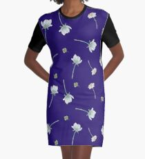 Wildflower pattern Graphic T-Shirt Dress