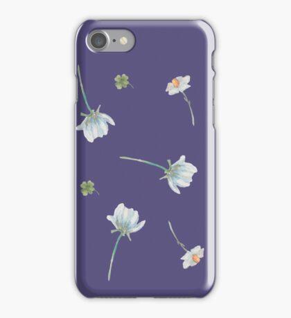 Wildflower pattern iPhone Case/Skin