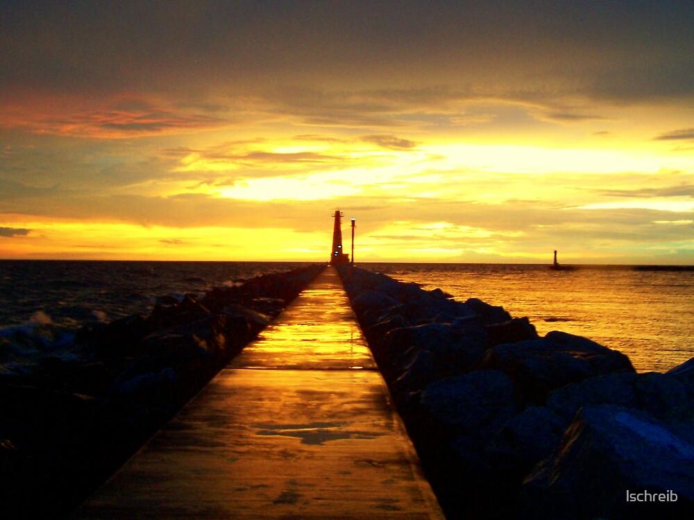Sunset after storm by lschreib