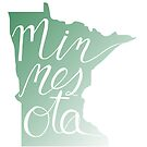 Minnesota State Cursive  by A J
