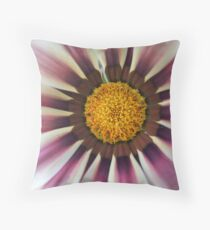 Rasberry Ripple Daisy... Throw Pillow