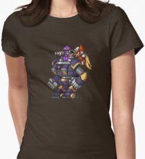 Zero vs Vile - MMX Womens Fitted T-Shirt