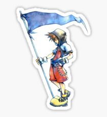 Kingdom Hearts Sora Sticker