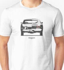 Toyota 2000GT (front/rear) Unisex T-Shirt