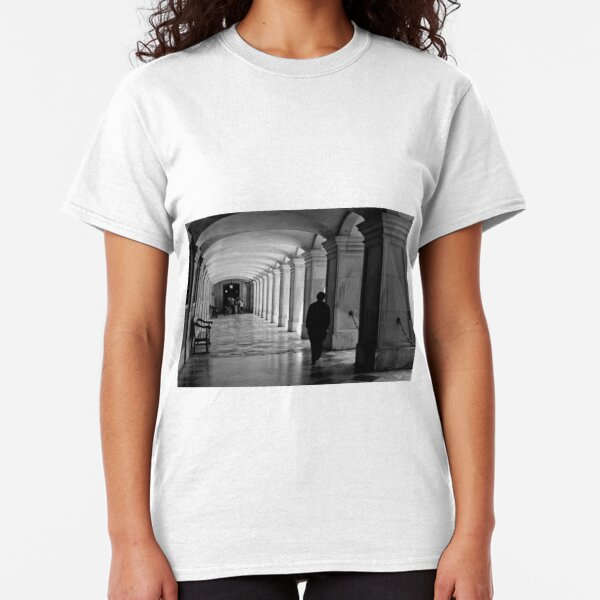 Pacing the cloister - Hampton Court Palace - London UK Classic T-Shirt
