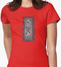 Carbonite Ninja Womens Fitted T-Shirt