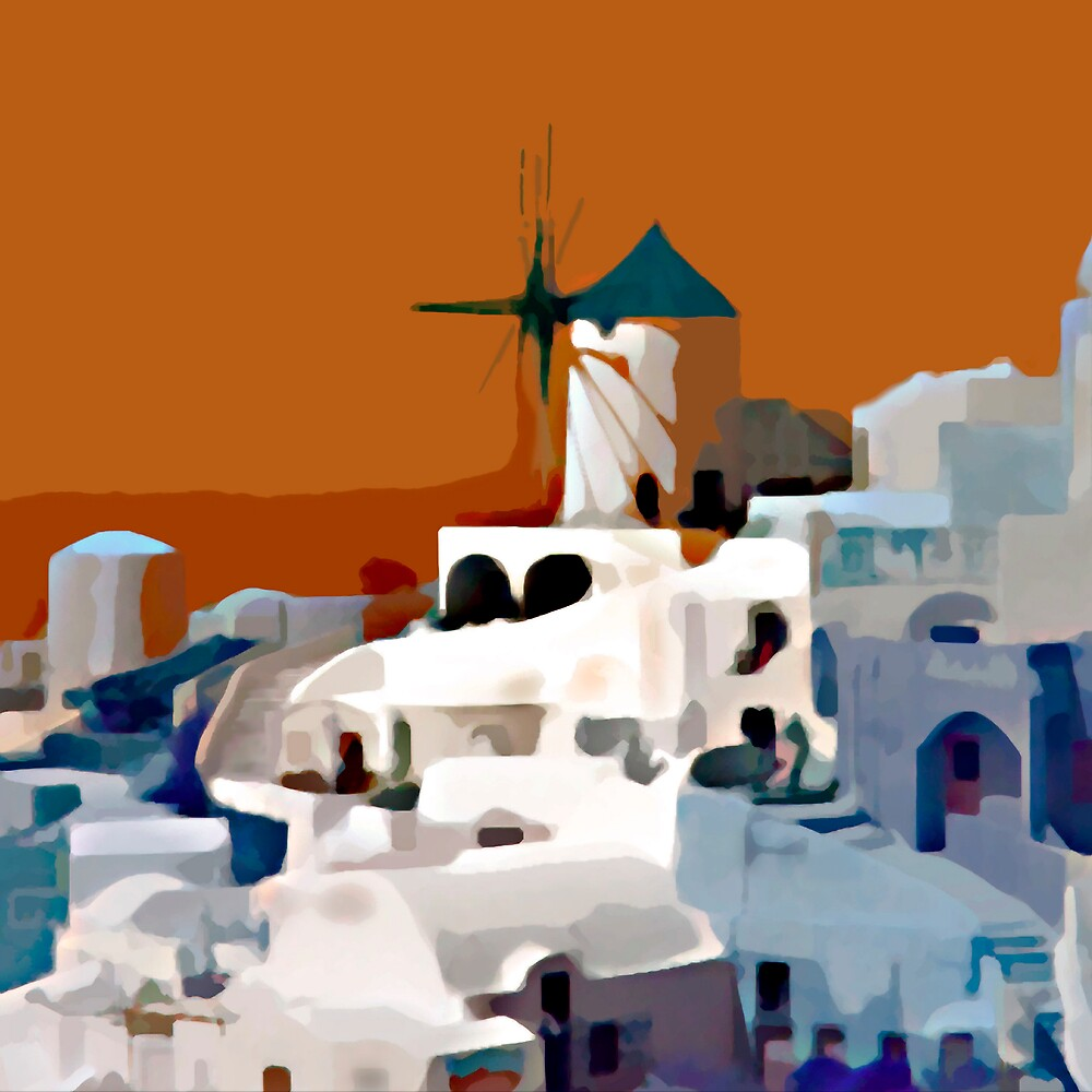 Greek Village by DigitalMuse