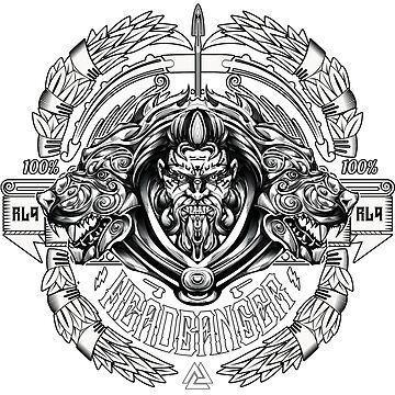 RL9 - Headbanger Society by BrittainDesigns