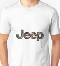 Jeep - Camo Unisex T-Shirt