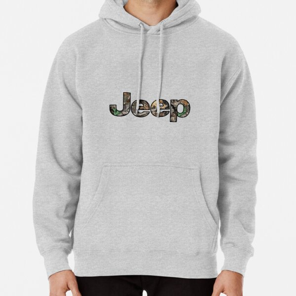 Jeep - Camo Pullover Hoodie