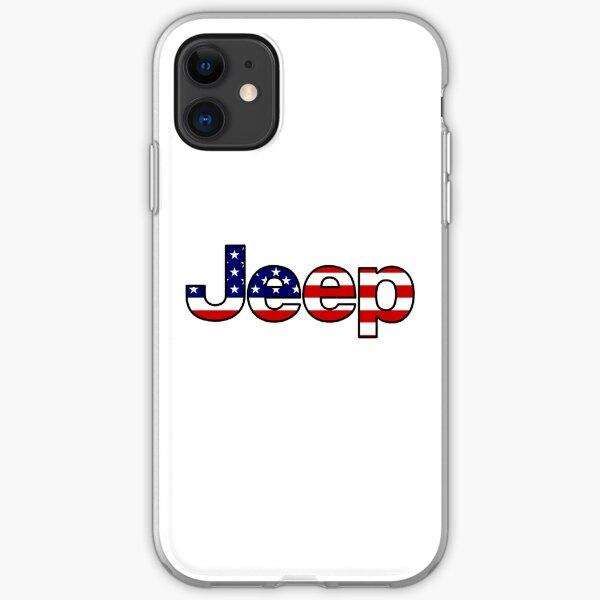 Jeep - amerikanische Flagge iPhone Flexible Hülle