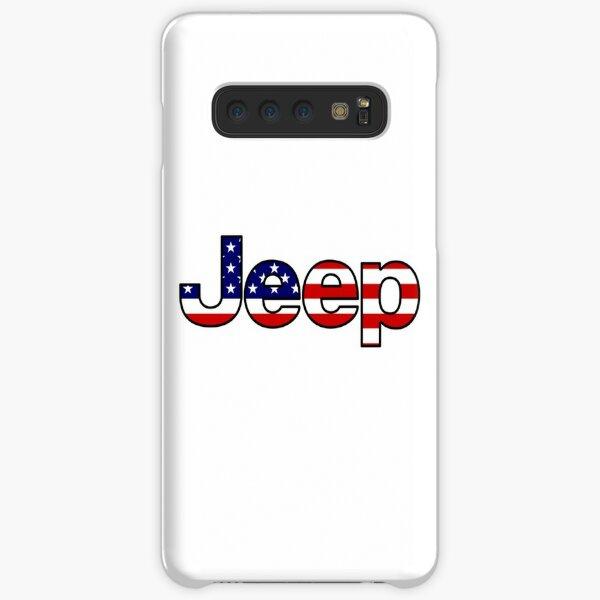 Jeep - amerikanische Flagge Samsung Galaxy Leichte Hülle