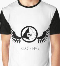 Kilo- Five Insignia Graphic T-Shirt