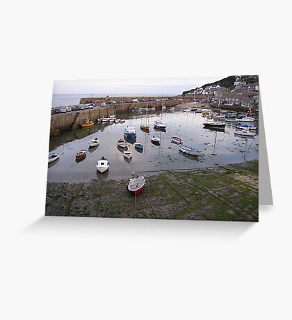 The Harbour at Mousehole Greeting Card