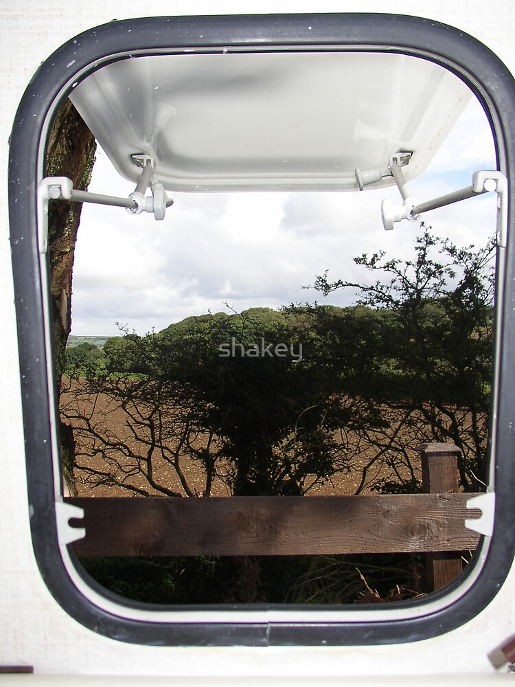 Caravan window by shakey
