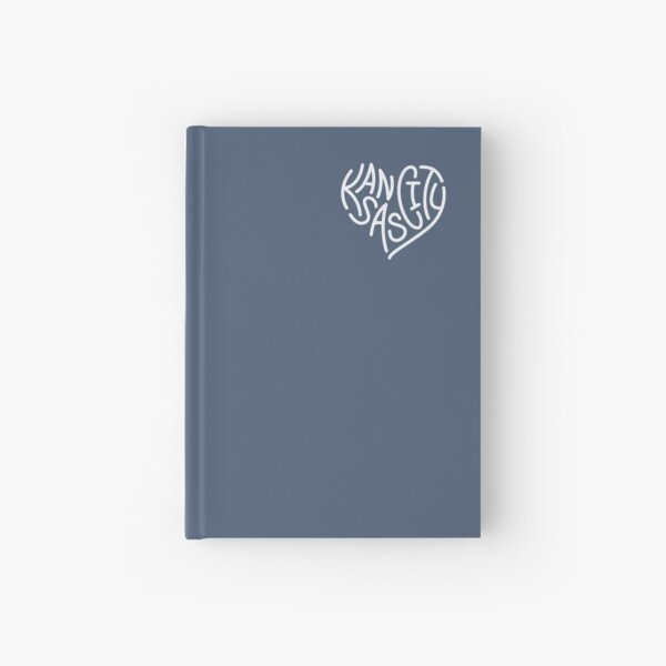 LOVE KC (letters only white) Hardcover Journal
