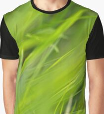 Shallow Blades of Grass Graphic T-Shirt