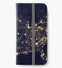 USA space iPhone Wallet/Case/Skin